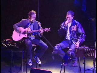 [Flashback] Jean-Jacques Goldman et Jean-Marie Bigard en duo sur Mon frère