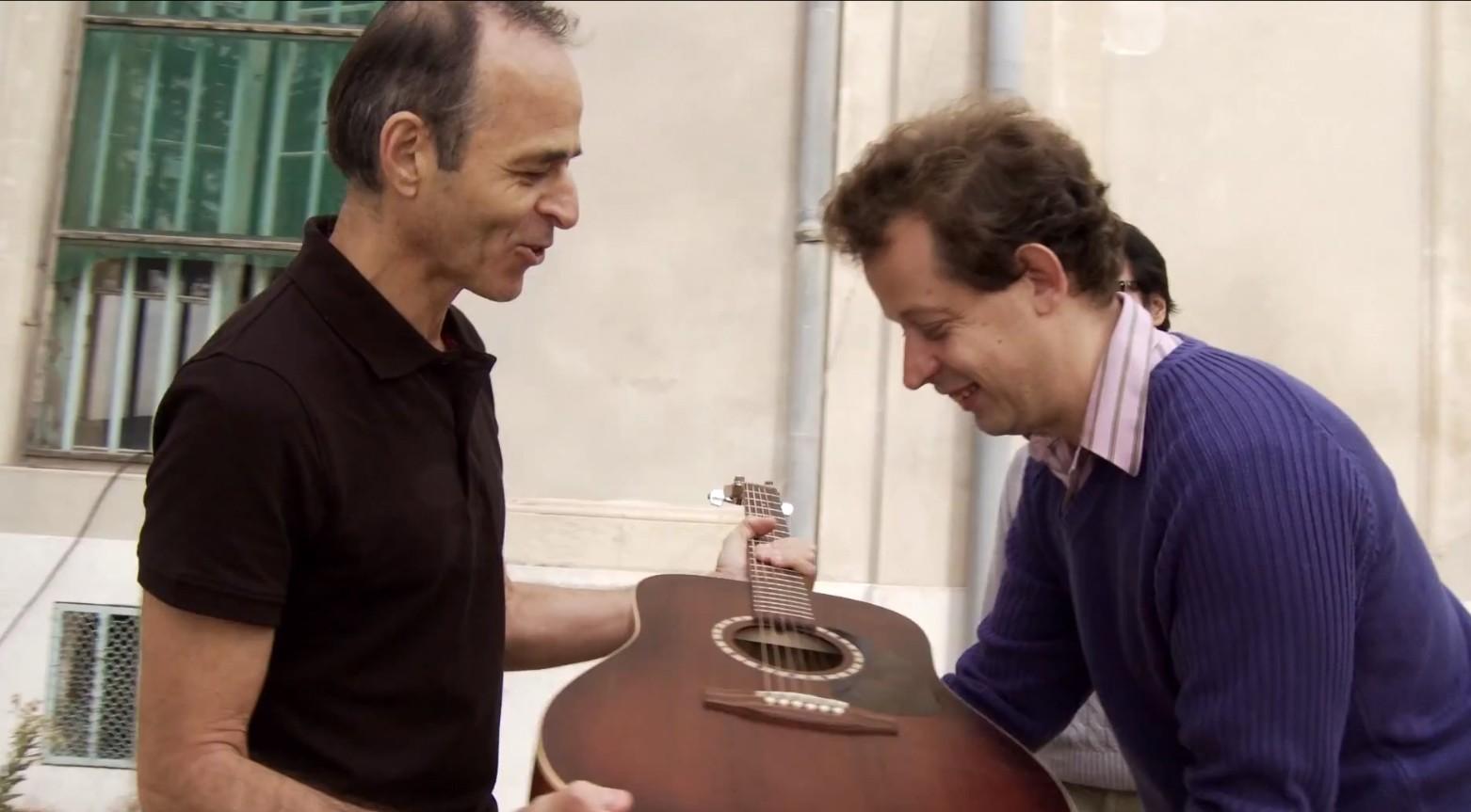 Jean-Jacques Goldman participe à un lipdub sur «Je te donne»