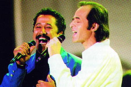 [Flashback] Jean-Jacques Goldman et Khaled interprètent Aïcha